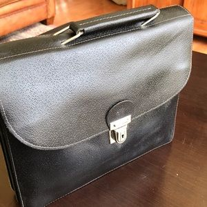 VINTAGE FRENCH LEATHER CASE FROM PARIS FRANCE